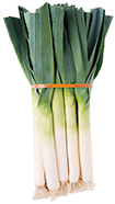 Pack of 12 leeks for restauration